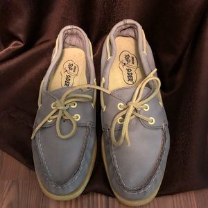 Sperry Top-Siders Gray & Neon Ships Same Day